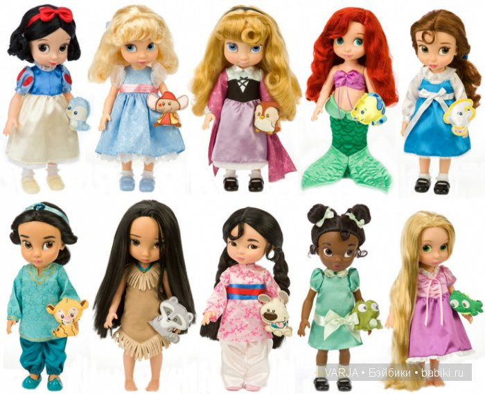Disney princess high school dolls