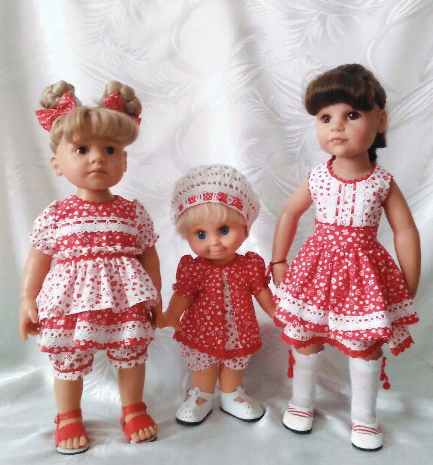 картинки несколько кукол как паспортных фото