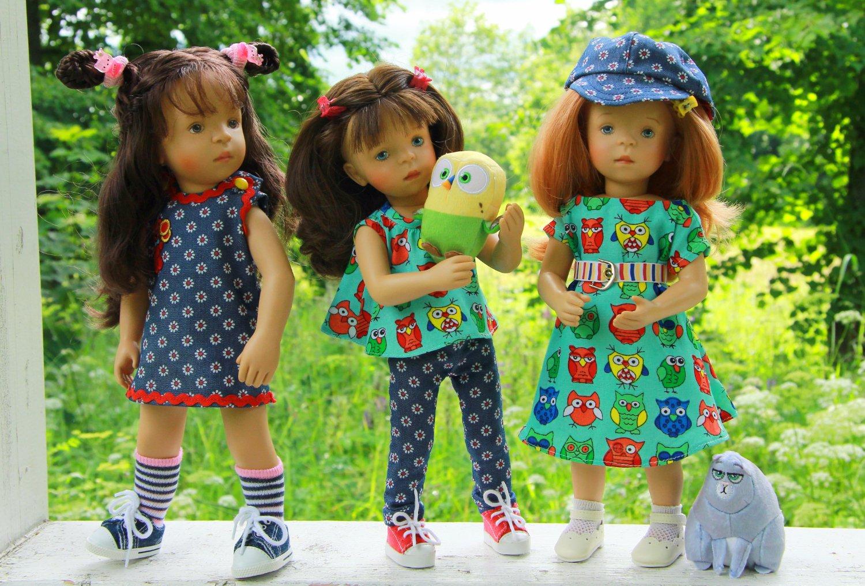 картинки где много кукол данной статье приведены