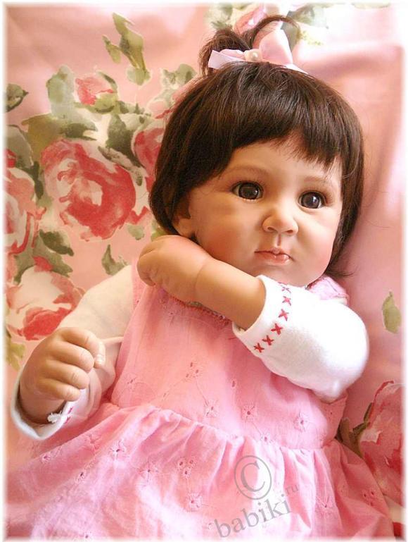 Моя кареглазая итальяночка - кукла Lily от  Andrea Arcello