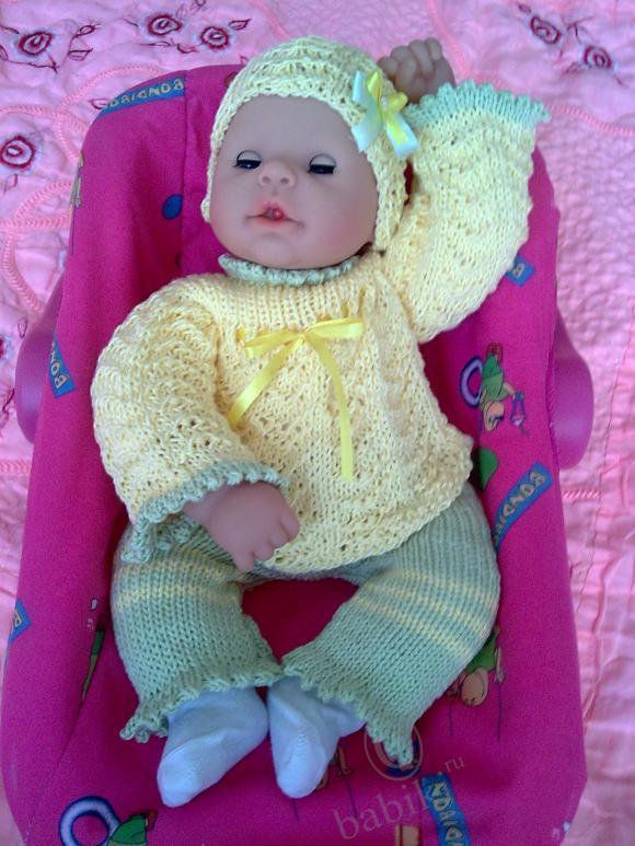 Весенние наряды для моих кукол малышей