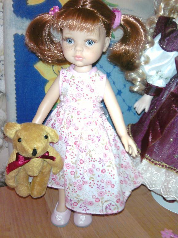 Как Даниэла стала Дарьей. кукла от Паолы Рейна
