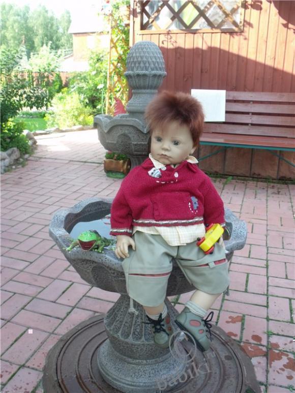 Мой рыжий Тил - коллекционная кукла Zapf creation