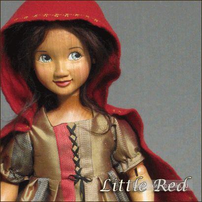 Авторские куклы от Xenis. Шарнирные куклы из дерева