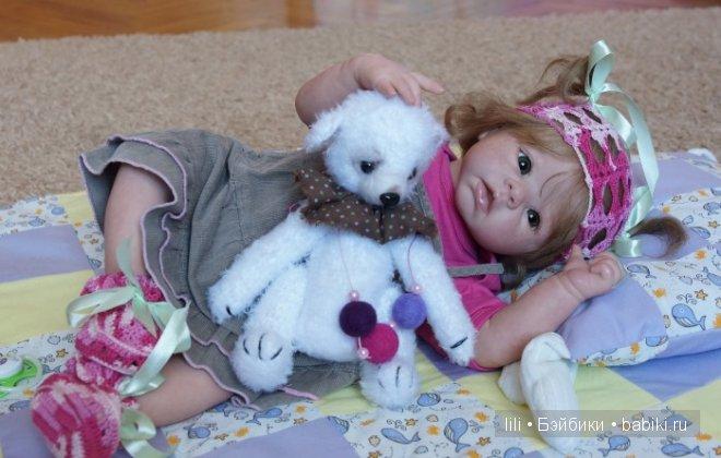 Моя новая Криста - кукла реборн Алиса