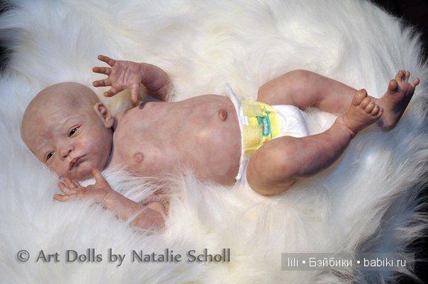Молд для куклы реборн Will от Natalie Scholl