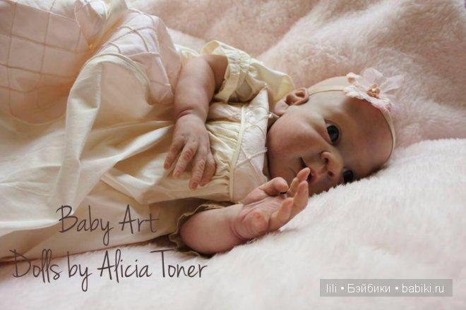 Молд для куклы реборн Sienna-Leigh от Alicia Toner
