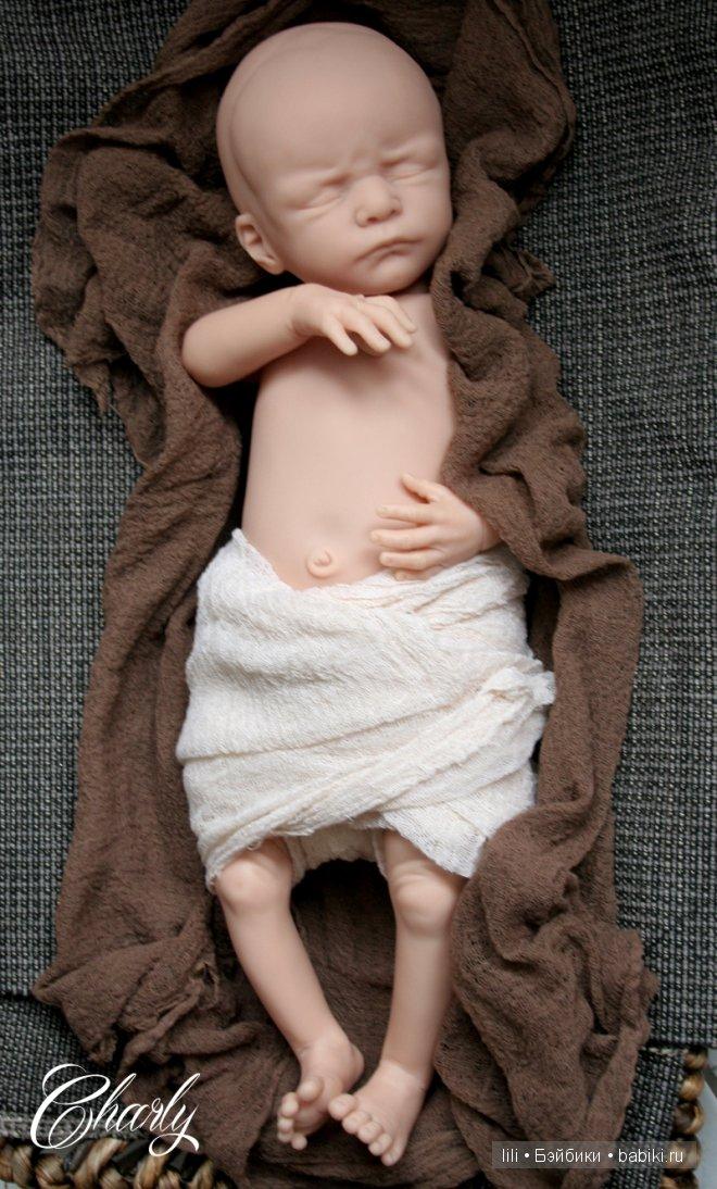 Молды для кукол реборн Charly и Maya от Olga Auer