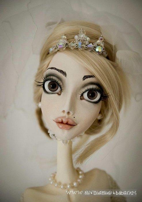 Авторские интерьерные куклы Анико Мкртычян