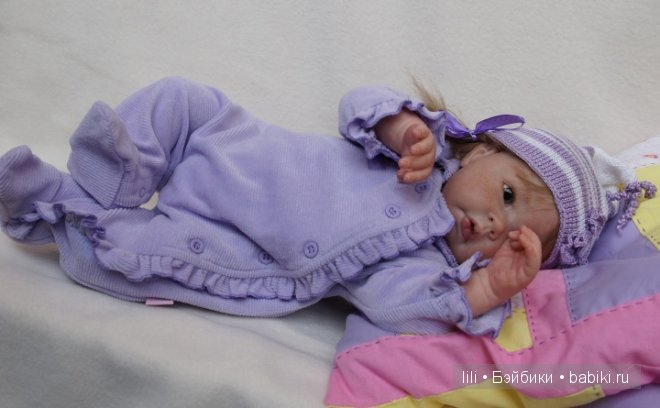 Кукла реборн Луковка