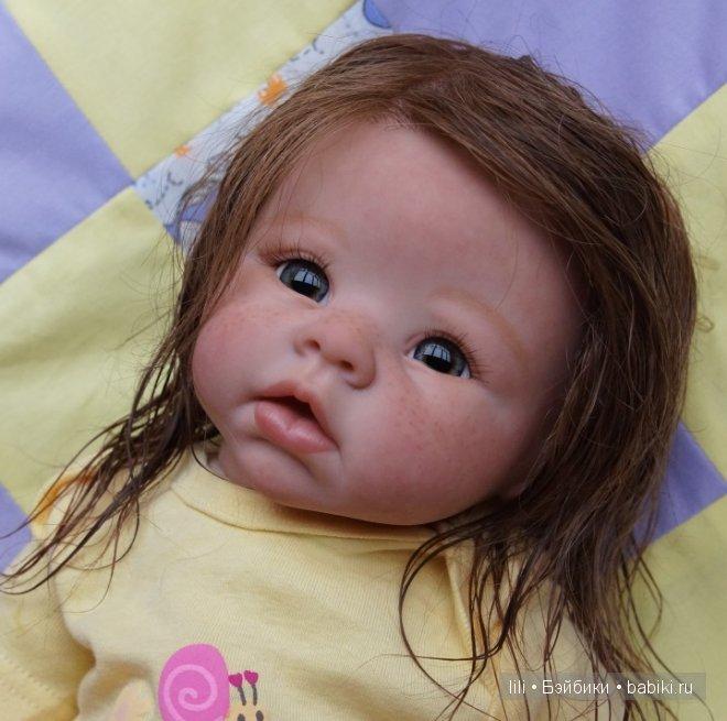 Кукла реборн Стешенька