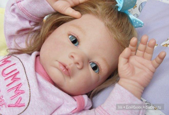 Моя Перис. Кукла реборн из молда Валентина от Gudrun Legler