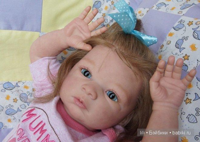 Моя Перис. Кукла реборн из молда Валентика от Gudrun Legler