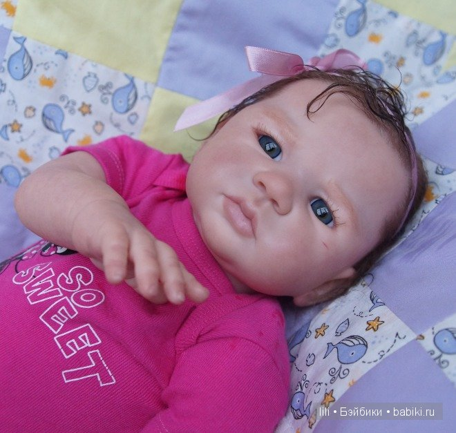 Моя Северина, новая малышка реборн