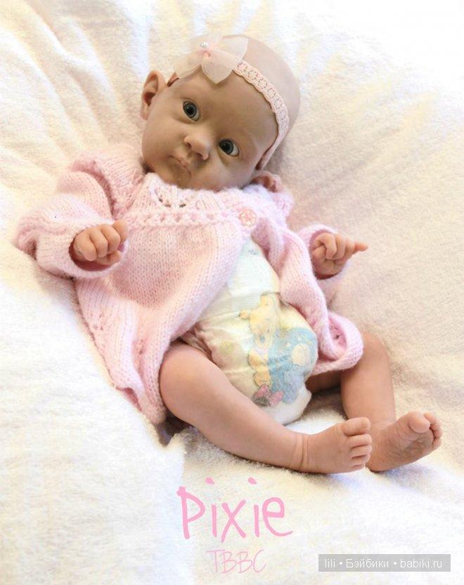 Новый молд для куклы реборн Pixie от Bonnie Brown
