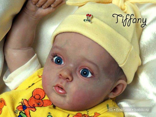 Молд для куклы реборн Tiffany by Natali Blick