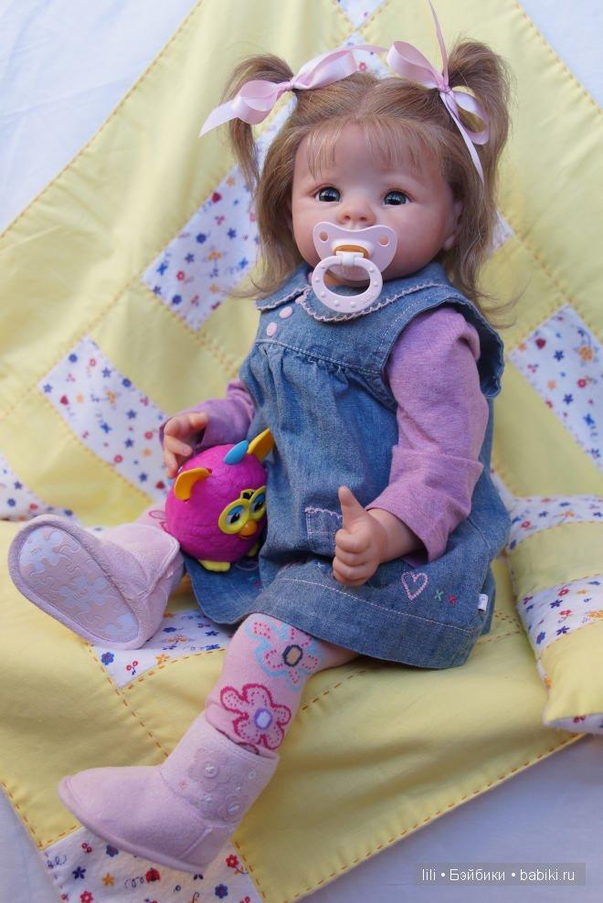 Еще одна моя куколка реборн Кристочка