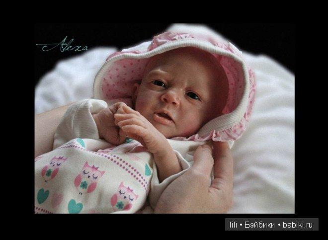 Молды для кукол реборн Alexa и Mathilda от Joanna Kazmierczak