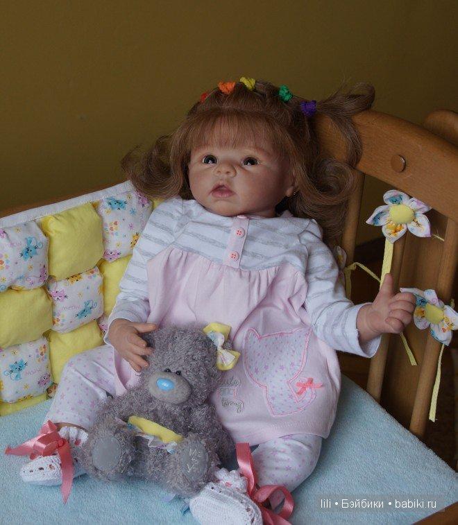 Моя последняя кукла реборн Кристочка