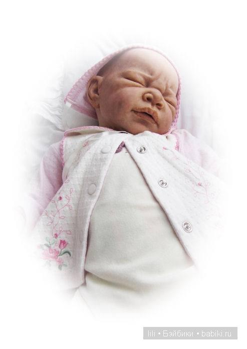 Новый молдик для куклы реборн Imani от Adrie Stoete