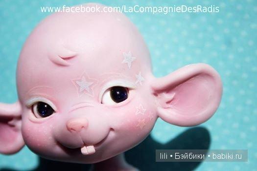 Малышка-мышка БЖД Paupiette от La Compagnie des Radis