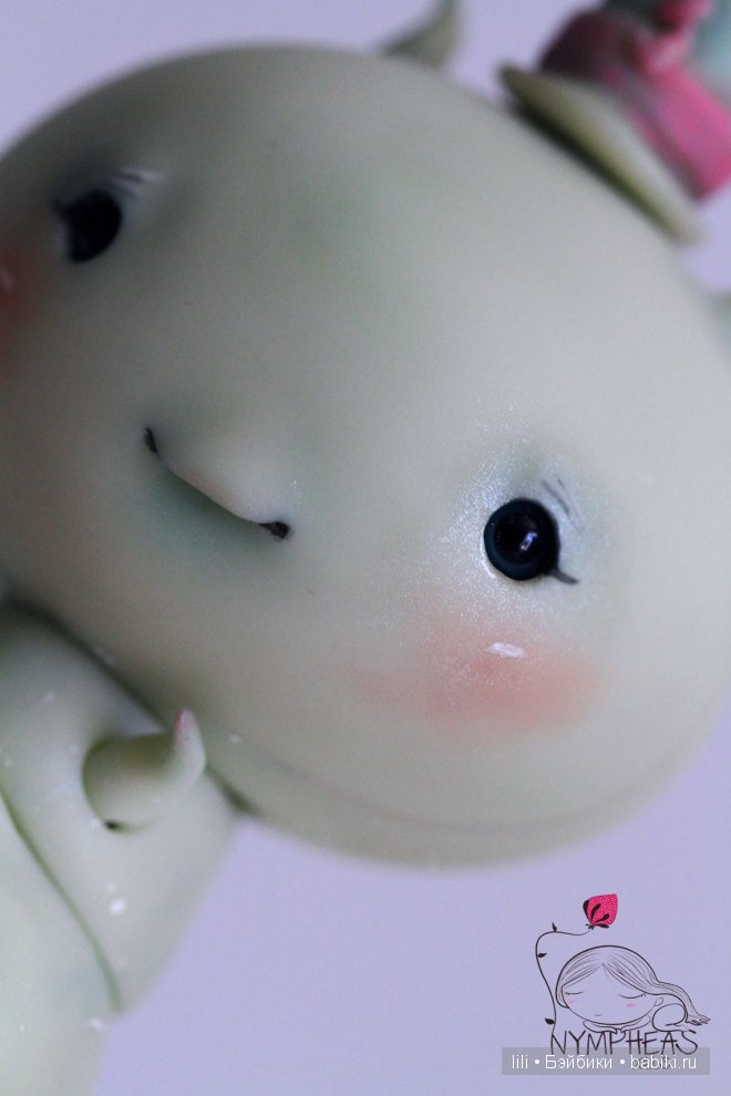 Зеленая гусеница ChouChou Green tea от Nympheasdolls