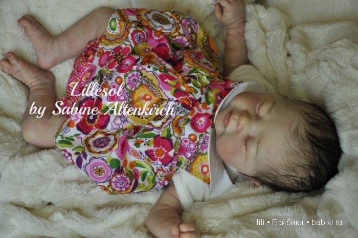 Новый молд куклы реборн Lillesol от  Sabine Altenkirch