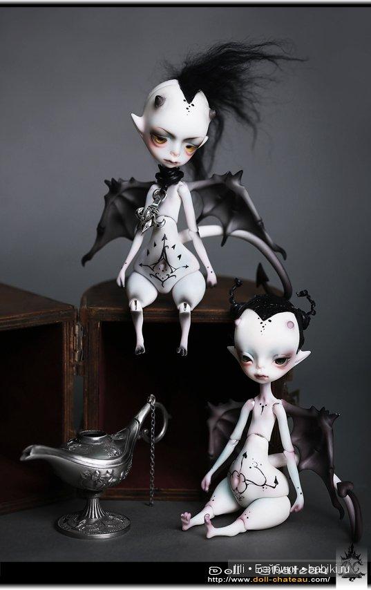 Демонята БЖД Jakov и Andre от doll-chateau