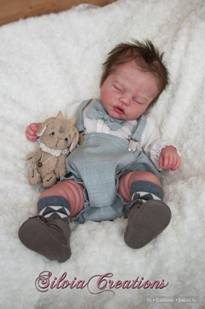 Молд куклы реборн Robin от скульптора Nikki Johnston