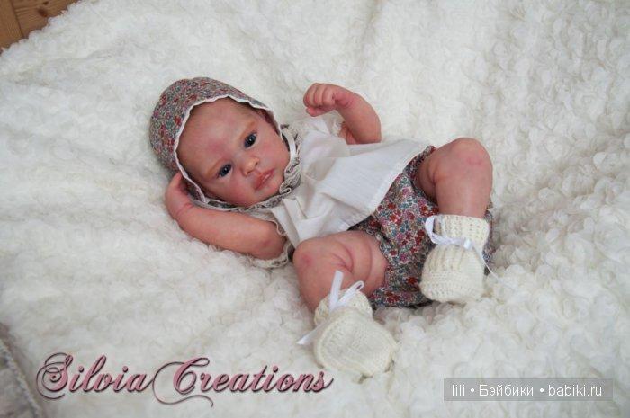 Молд для куклы реборн Melanie от скульптора Ирины Капланской