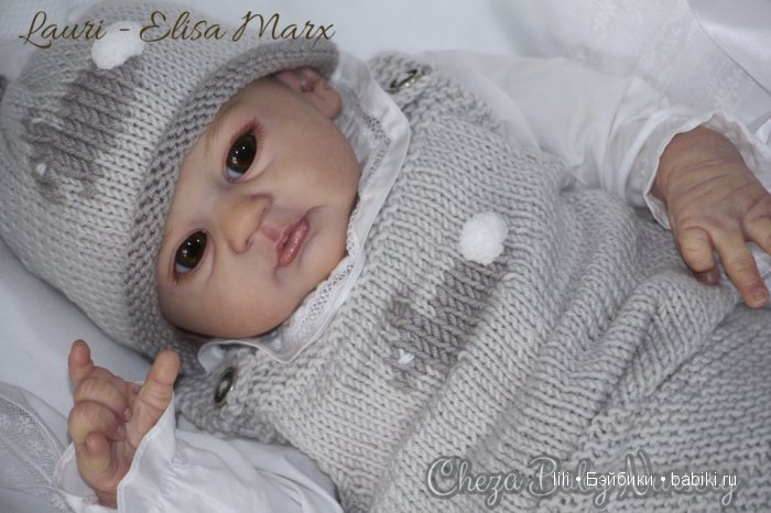 Молд для куклы реборн Lauri, скульптор Elisa Marx