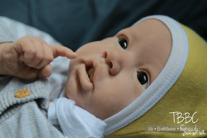 Новый молд куклы реборн Saskia от Bonnie Brown