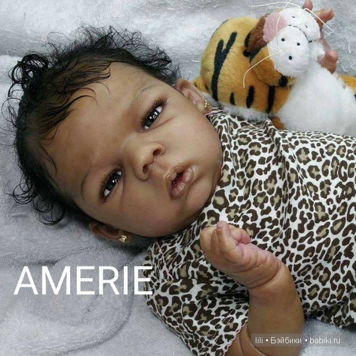 Молд для куклы реборн Amerie от скульптора Lorna Miller Sands