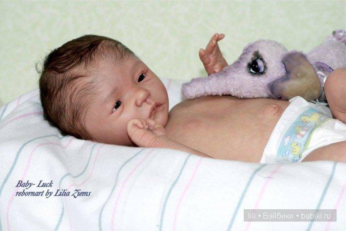 Молд для куклы реборн Jonathan от скульптора Corina Zaremba-Wagner