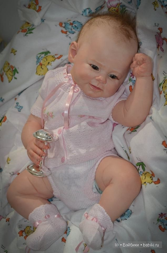 Молд для куклы реборн Greta от скульптора Andrea Arcello