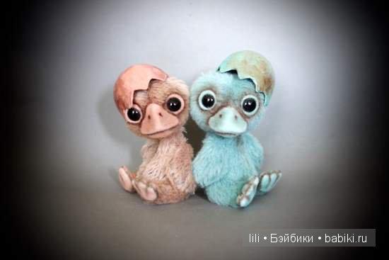 Авторские игрушки от Lisa Hovenkamp