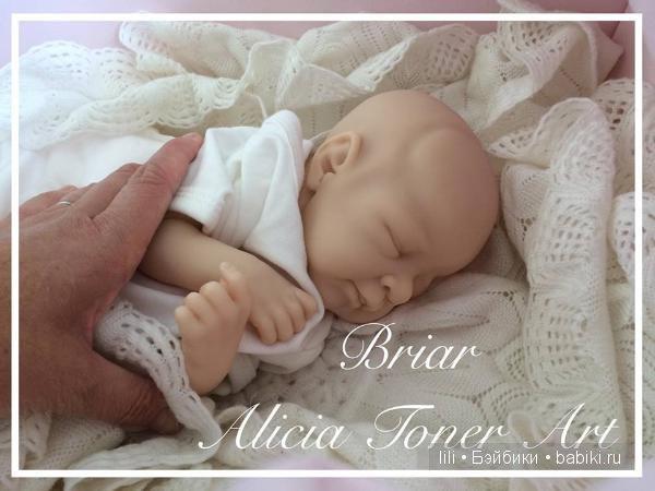 Молд для куклы реборн Briar Rose от скульптора Alicia Toner
