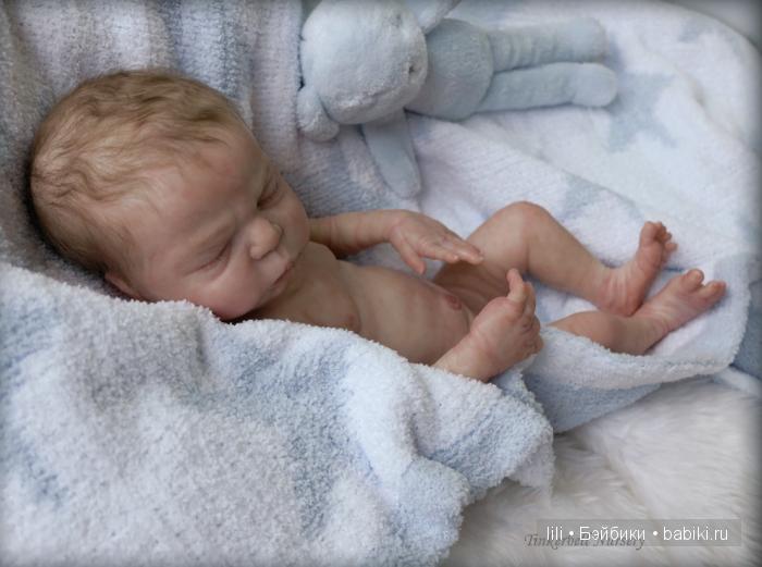Молд для куклы реборн Max от скульптора Cindy Musgrove
