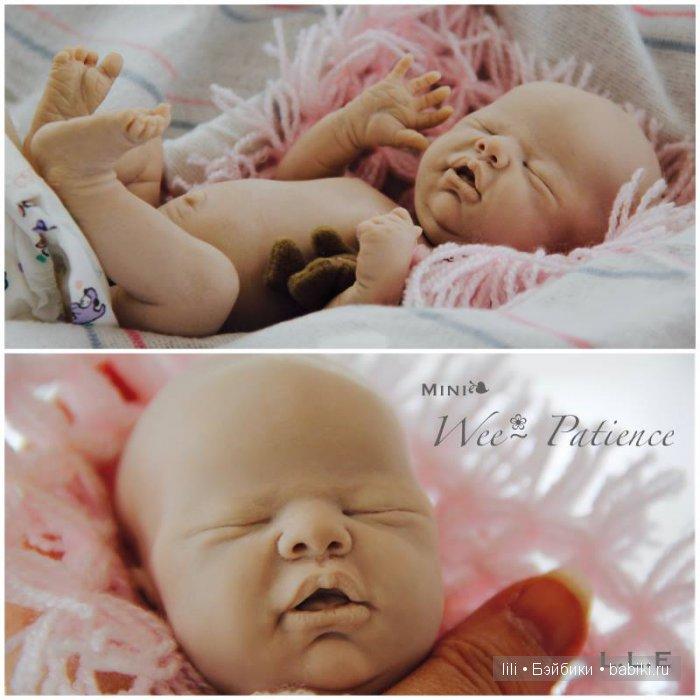 Мини молд для куклы реборн Wee Patience от Laura Lee Eagles