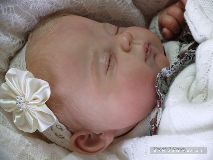 Молд для куклы реборн Josie от скульптора Ping Lau