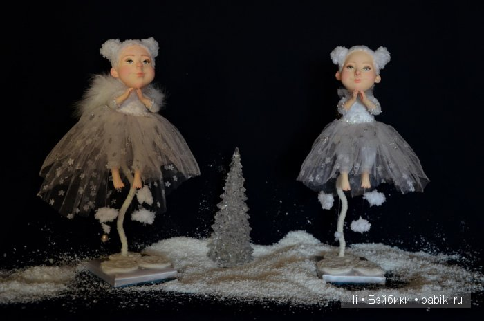 Авторские куклы Виктории Мендель