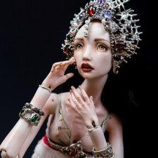 """Авторские шарнирные куклы Ольги Гудилиной. Коллекция """"Драгоценности вне времени"""""""