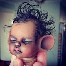 Молд мышки Daisy Mouse от скульптора Jade Warner