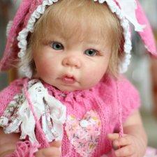 Малышка реборн мини Лука