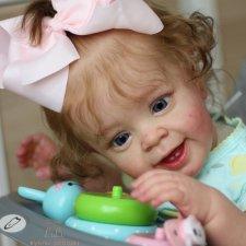 Моя улыбающаяся малышка из молда Янник