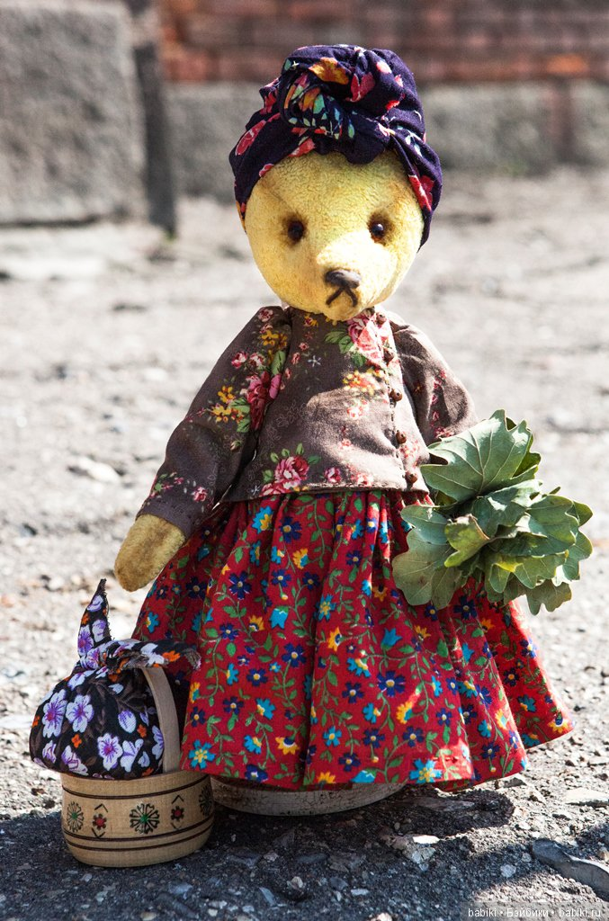 IX Московская международная выставка коллекционных медведей Hello Teddy 1 - 3 декабря 2017
