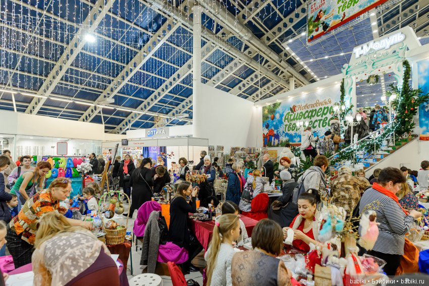 Международная выставка-продажа товаров для рукоделия и хобби Атмосфера творчества 2018. 29 марта - 1 апреля, Тишинка, Москва. Анонс