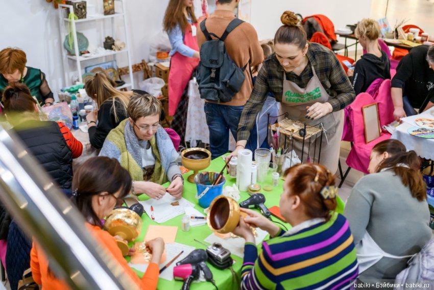 Атмосфера творчества 2018. Геометрия осени. Отражение линий. 18 - 21 октября, Тишинка, Москва