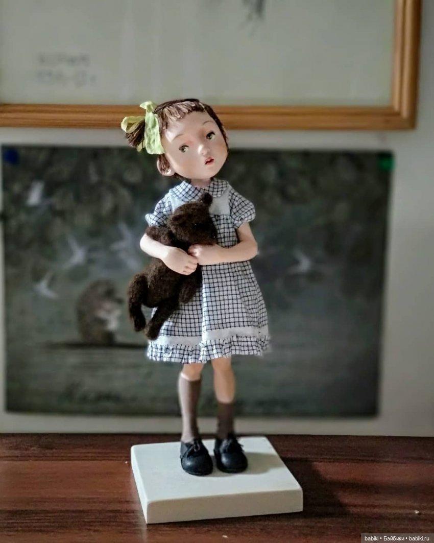 Интервью с автором. Куклы Жанны Жуминой