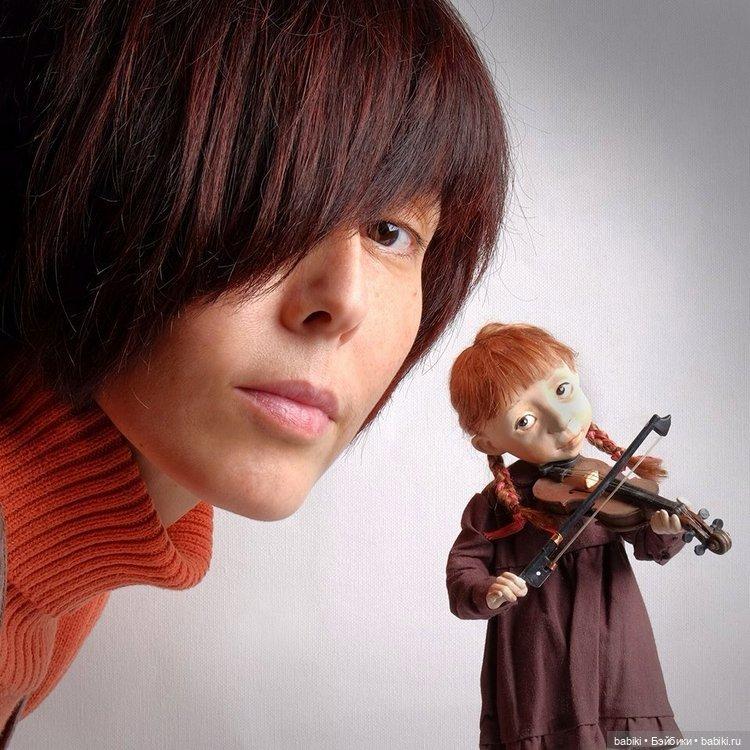 фото автора кукол - Жанна Жумина